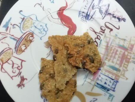 RECIPE MAIN IMAGE Crackers aux graines