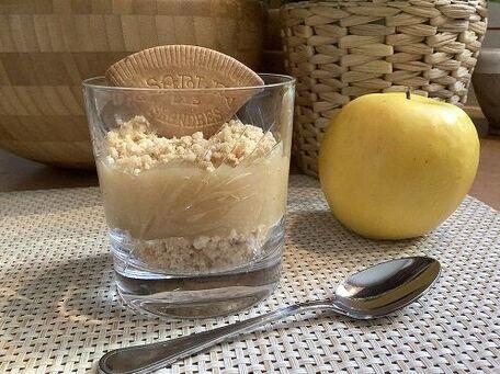 RECIPE MAIN IMAGE Compote de pommes et son crumble