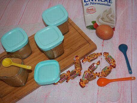 RECIPE MAIN IMAGE Crèmes dessert au batna