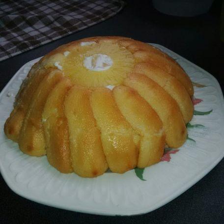 RECIPE MAIN IMAGE Charlotte à l'ananas de ma grand mére