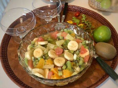 RECIPE MAIN IMAGE Salade de fruits