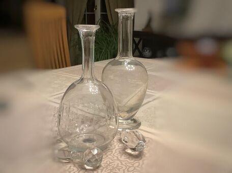 ADVICE MAIN IMAGE Conseils d'entretien pour les carafes en cristal