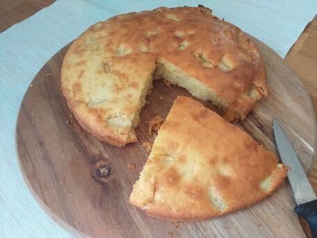 RECIPE MAIN IMAGE Gâteau aux pommes moelleux