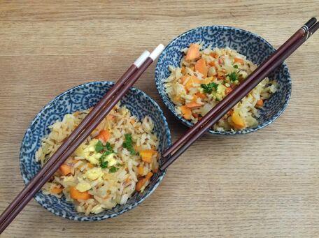 RECIPE MAIN IMAGE Riz à l'asiatique recette végétarienne