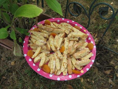 RECIPE MAIN IMAGE Biscotti abricot amande