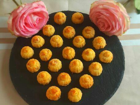 RECIPE MAIN IMAGE Cake au jambon et emmental revisité en petites bouchées
