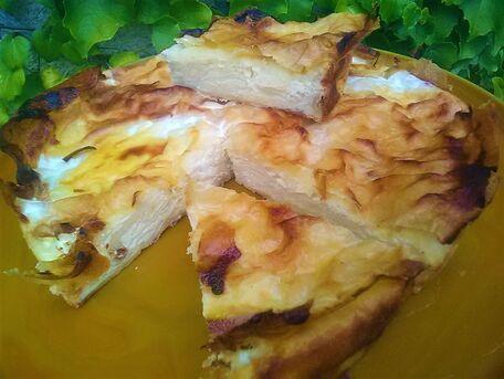 RECIPE MAIN IMAGE Gâteau feuilles de brick et fromage blanc citron