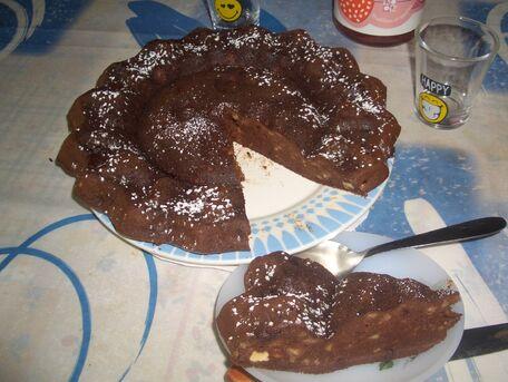 RECIPE MAIN IMAGE Brownie-banane ensoleillé