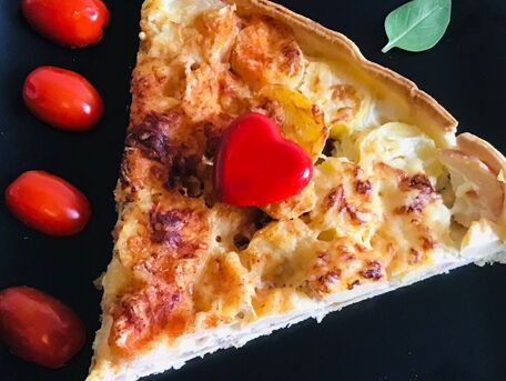 RECIPE MAIN IMAGE Quiche d'automne
