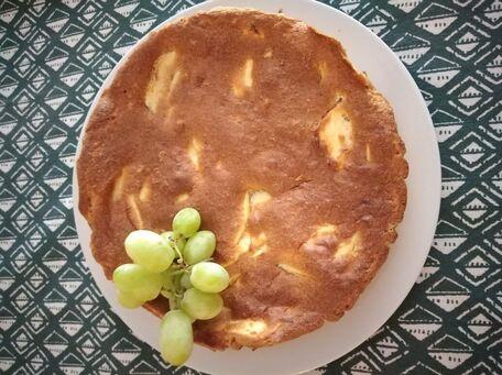 RECIPE MAIN IMAGE Gâteau aux pommes sans farine et matière grasse