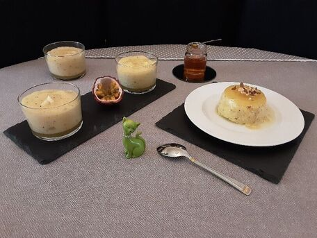 RECIPE MAIN IMAGE Mousse aux fruits de la passion : dessert Argentin