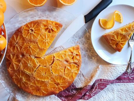 RECIPE MAIN IMAGE Gâteau renversé aux oranges