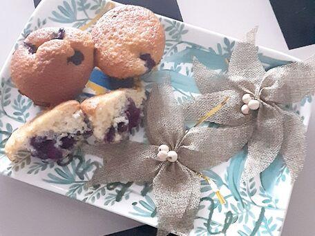 RECIPE MAIN IMAGE Muffins myrtilles