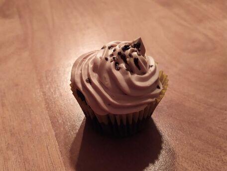 RECIPE MAIN IMAGE Cupcake chocolat ganache montée kinder