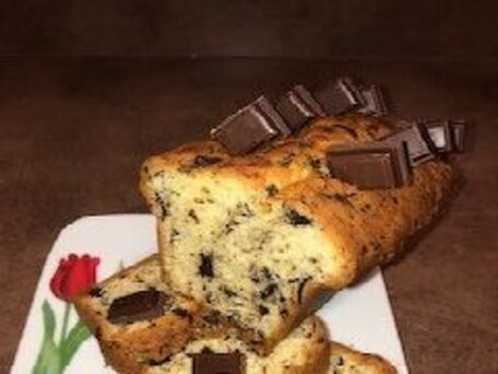 RECIPE MAIN IMAGE Cake aux copeaux de chocolat