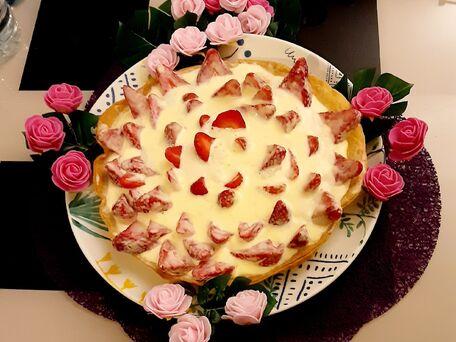 RECIPE MAIN IMAGE Nuage de fraises