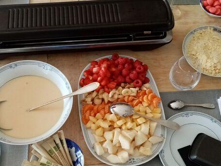 RECIPE MAIN IMAGE Raclette de fruits !!!