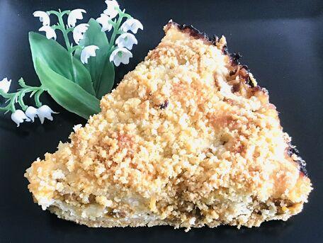 RECIPE MAIN IMAGE Mon gâteau façon crumble aux mirabelles de mon jardin