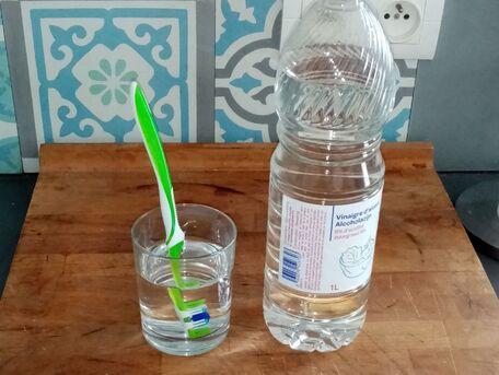 ADVICE MAIN IMAGE Nettoyer une brosse à dents !