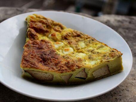 RECIPE MAIN IMAGE Quiche sans pâte au tofu