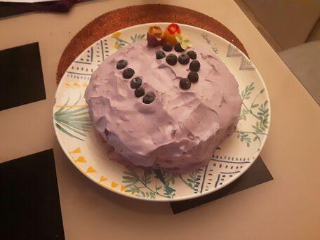RECIPE MAIN IMAGE Gâteau aux myrtilles