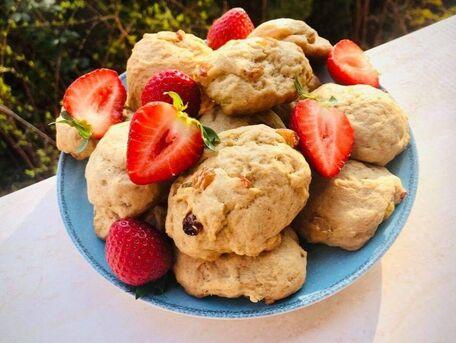 RECIPE MAIN IMAGE Biscuits aux raisins