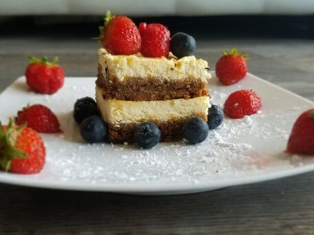 RECIPE MAIN IMAGE Layer cheesecake