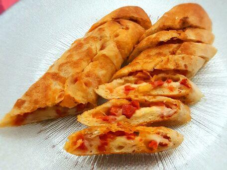 RECIPE MAIN IMAGE Baguette farcie au chorizo