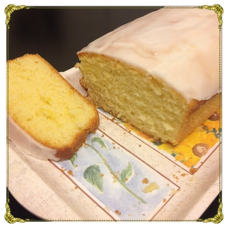 RECIPE MAIN IMAGE Cake au citron