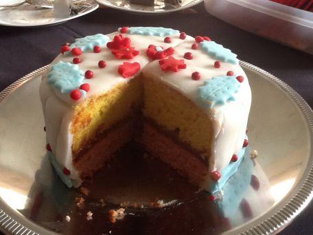 RECIPE MAIN IMAGE Gâteaux au 2 couleurs