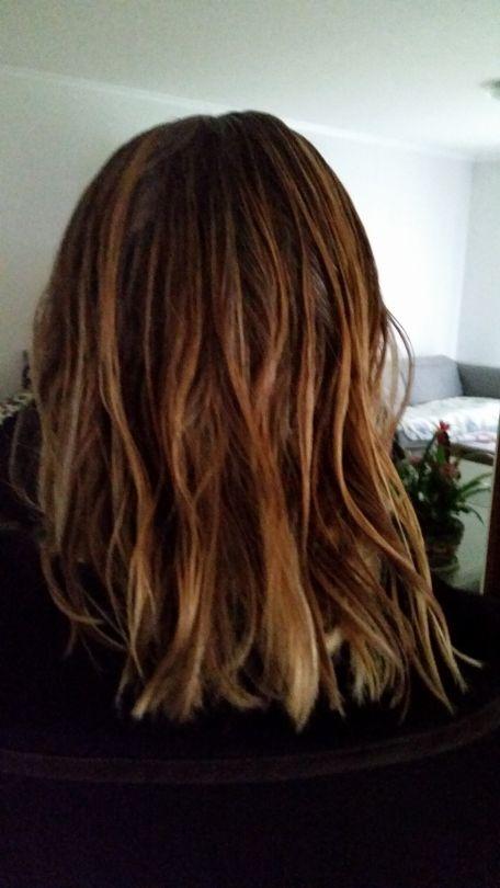 ADVICE MAIN IMAGE Cheveux brillant non gras