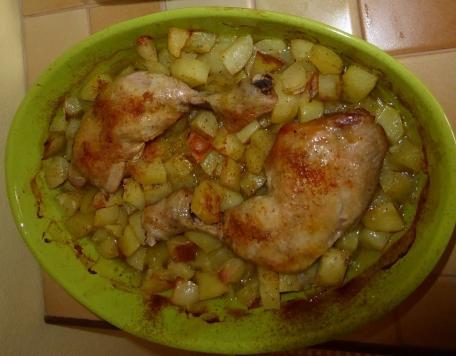 RECIPE MAIN IMAGE Cuisses de poulet au four