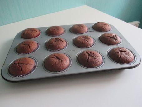 RECIPE MAIN IMAGE Muffins chocolat Nutella et coeur Nutella
