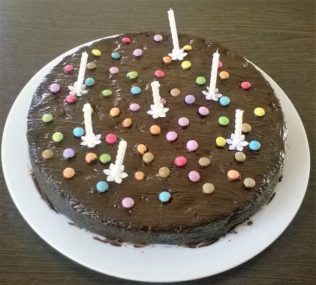 RECIPE MAIN IMAGE Gâteau au chocolat et à la poire.
