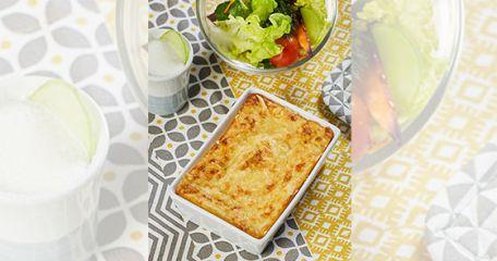 RECIPE MAIN IMAGETestez notre produit et cuisinez un Hachis parmentier au confit de canard et marrons