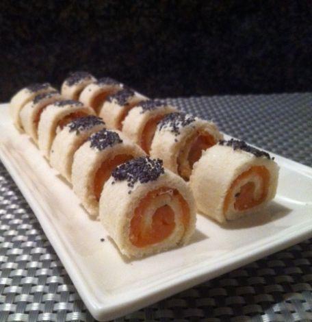 RECIPE MAIN IMAGE Mini maki au saumon fumé