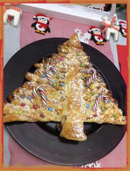 RECIPE MAIN IMAGE Sapin de Noël sucré décoré