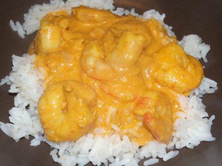 RECIPE MAIN IMAGE Curry de Crevettes