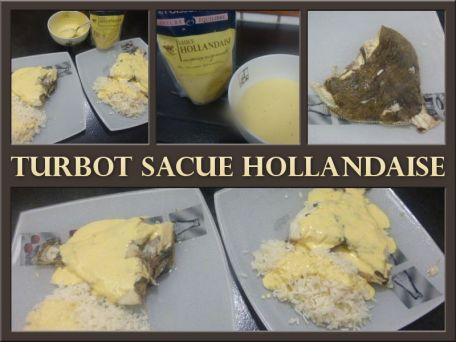 RECIPE MAIN IMAGE Turbot Sauce Hollandaise