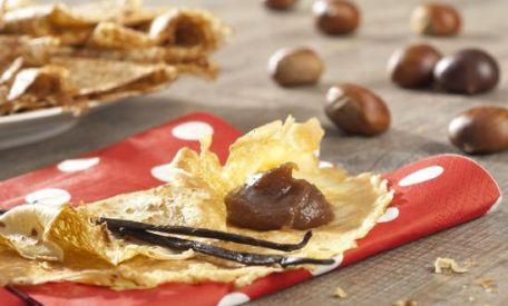 RECIPE MAIN IMAGE Crêpes de marron et chocolat avec Alsa®