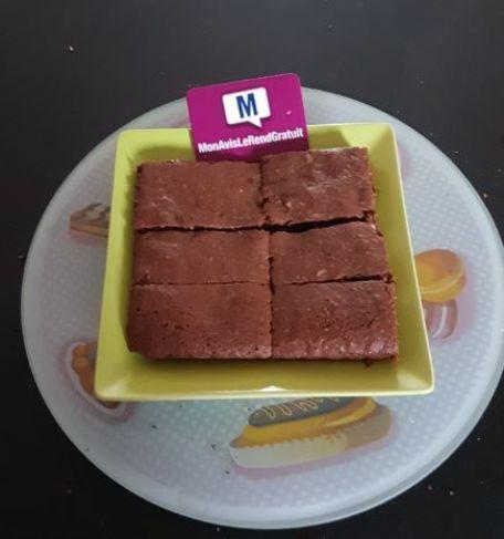 RECIPE MAIN IMAGE Brownie au Dessert Noir Côte d'Or