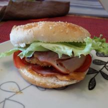 burger poulet bacon