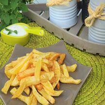 Des frites et des herbes !