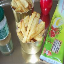appétissantes ces frites, j'en reprendrai bien