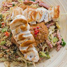 Nasi goreng de quinoa