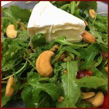 Salade mini cmmembert noix de Cajou