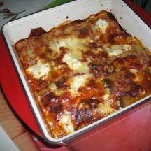Cannelloni au saumon sauvage et à la ricotta.