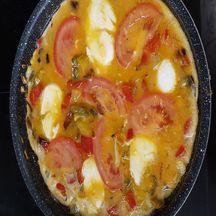 Tortilla aux poivrons