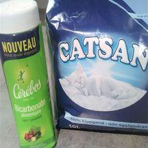 Désodoriser la litière pour chat