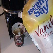Choco-café à la cannelle et la crème fouettée